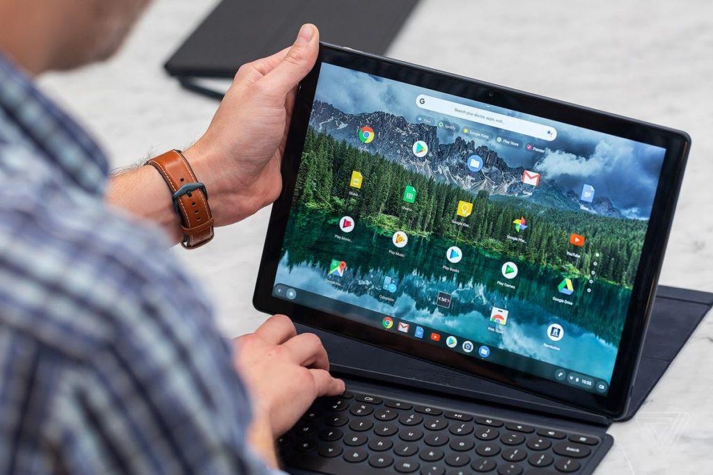 Pixel Slate sous Chrome OS