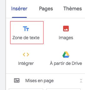 Formation  Google Sites et drive