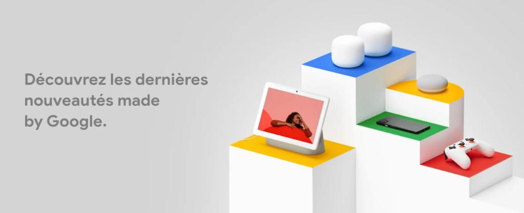 illustration : Découvrez les dernières nouveautés made by Google