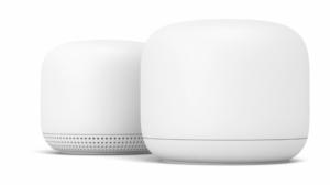 Photo du routeur et du point d'accès Nest Wifi