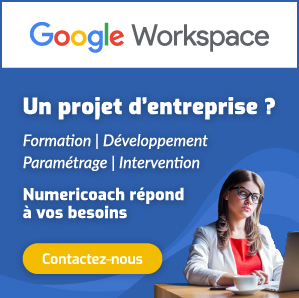 Formation professionnel Google Workspace